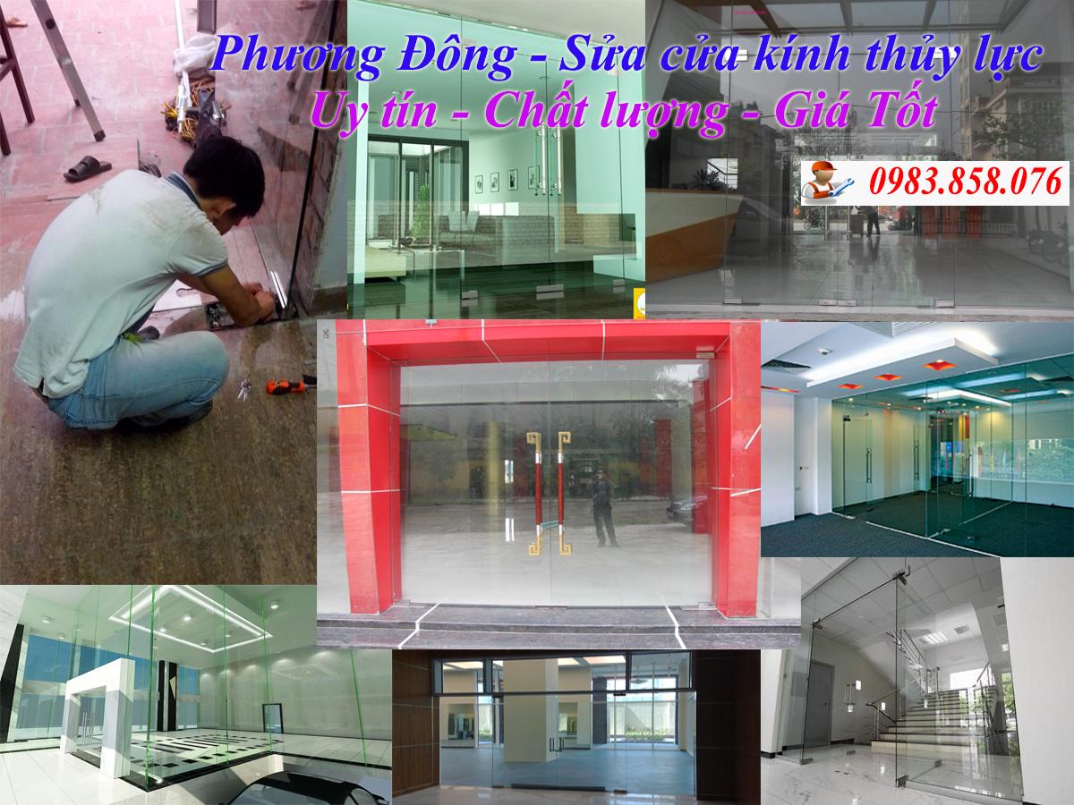 Sửa cửa kính uy tín nhất tại Hà Nội