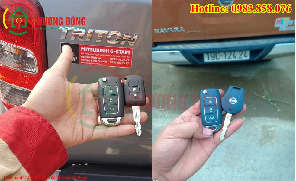 Thợ khóa Phương Đông đã đánh chìa khóa thành cho khách hàng tại Phú Thọ