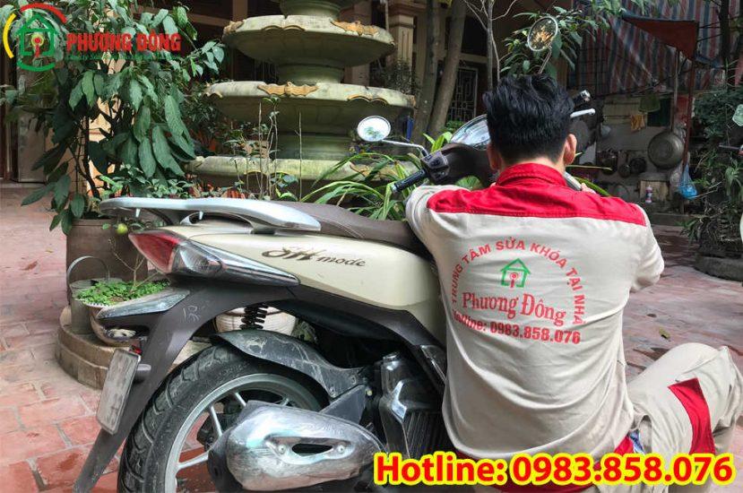 Thợ sửa khóa xe máy Thạch Thất