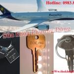 Làm chìa khóa máy bay các hãng chuyên nghiệp giá tốt
