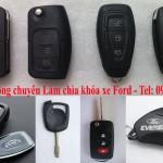 Làm chìa khóa xe Ford giá nét Phôi chìa chính hãng