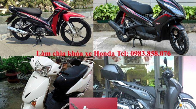 Làm Chìa Khóa Xe Honda