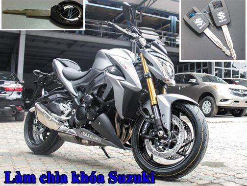 Làm Lại Chìa Khóa Xe Suzuki