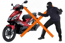 Chống mất cắp xe máy