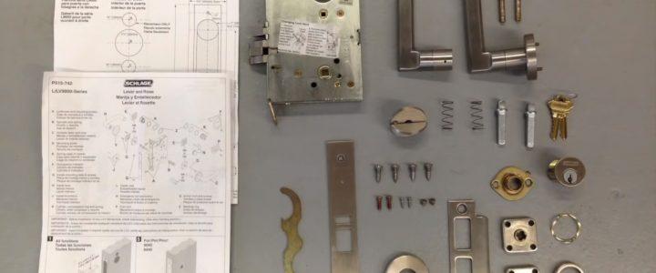 Cách tháo lắp khóa cửa tay gạt nhanh chóng như chuyên gia