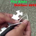 3 Cách mở khóa xe đạp điện khi mất chìa Mở khóa cổ đi tạm
