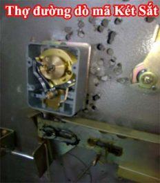Thợ khóa đường không biết sửa két sắt