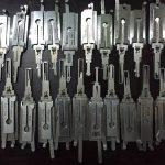 Dụng cụ Mở khóa Cửa Cốp xe ô tô Keylock an toàn chuyên nghiệp
