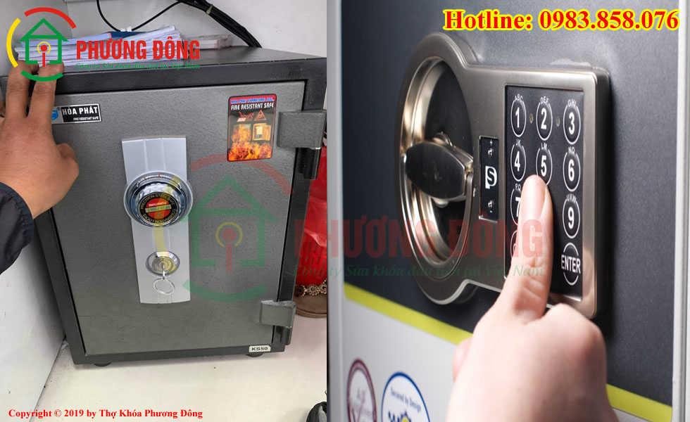 Hình ảnh lấy lại mã két sắt cho khách tại Nam Định