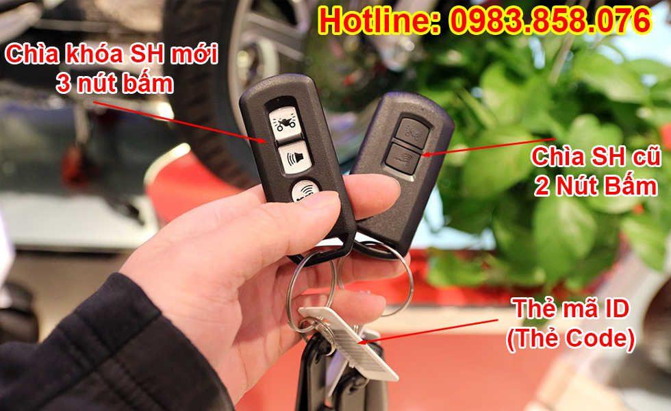 Cách Làm Chìa Khóa Thông Minh Của Xe SH Mới Nhất Kể Cả Không Còn ID