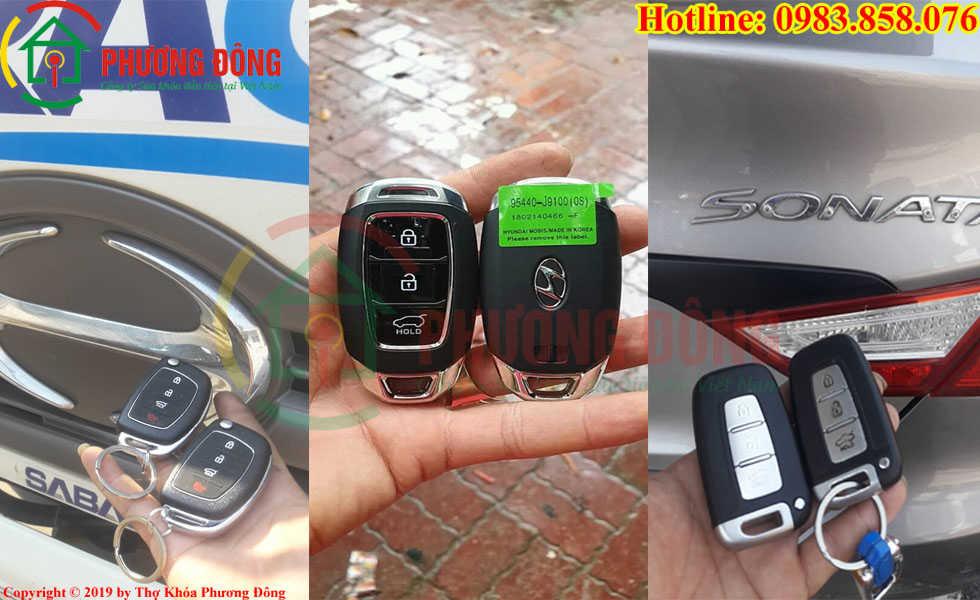 Sao chép chìa khóa ô tô cho khách ở Sóc Trăng