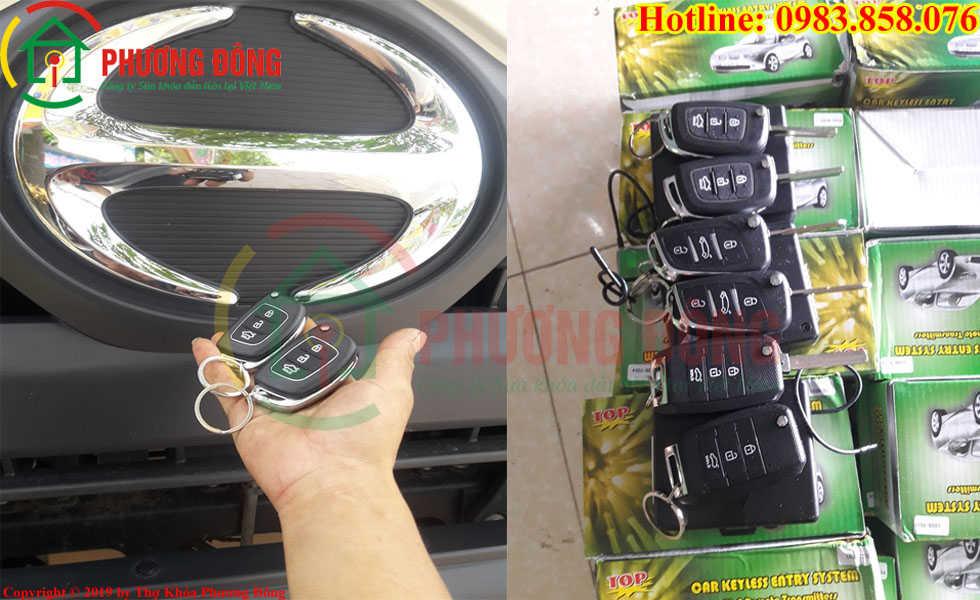 Phương Đông cung cấp tất cả loại khóa xe ô tô ở Sóc Trăng