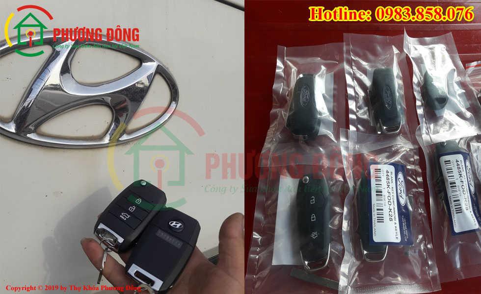 Đánh lại chìa khóa ô tô cho khách ở Thái Bình