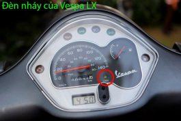 đèn code của xe vespa