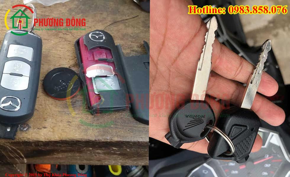 Phương Đông sửa tất cả các loại khóa xe tại Phường 2