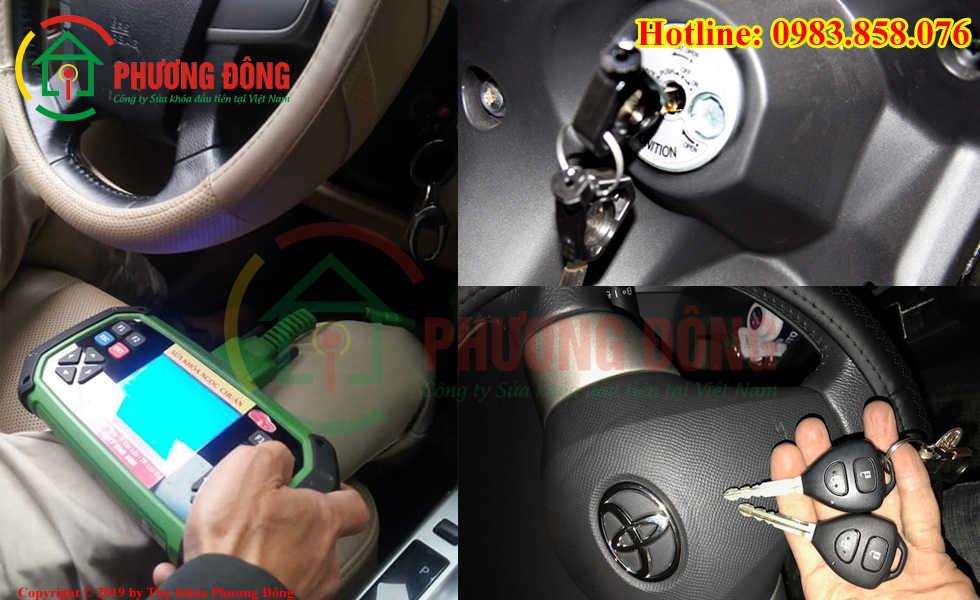 Phương Đông sửa tất cả các loại khóa xe tại Phường 5