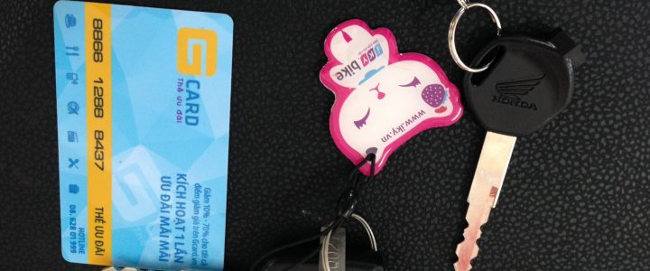 Sửa khóa từ Chống Trộm xe máy bằng Thẻ từ, điều khiển từ xa