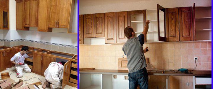 Thợ Mộc Sửa chữa Tủ bếp tại nhà Hà Nội Giá RẺ Nhất