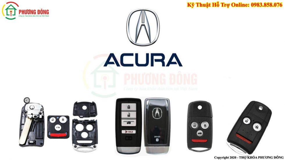 Một số loại khóa xe Acura