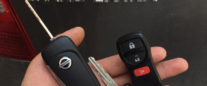 Làm chìa khóa Remote xe Nissan chính hãng giá tốt nhất