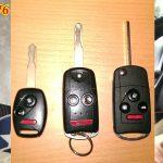 Làm chìa khóa xe Civic chính hãng Độ Chìa Remote gấp tuyệt đẹp