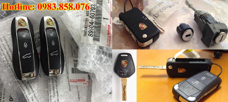 Chìa khóa Porsche