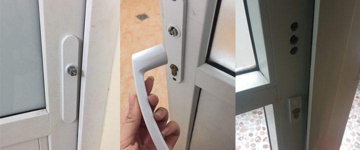 Sửa khóa Cửa nhựa lõi thép, Cửa Eurowindow tại nhà an toàn