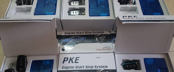 Độ lắp chìa khóa thông minh ô tô Star/Stop chính hãng an toàn