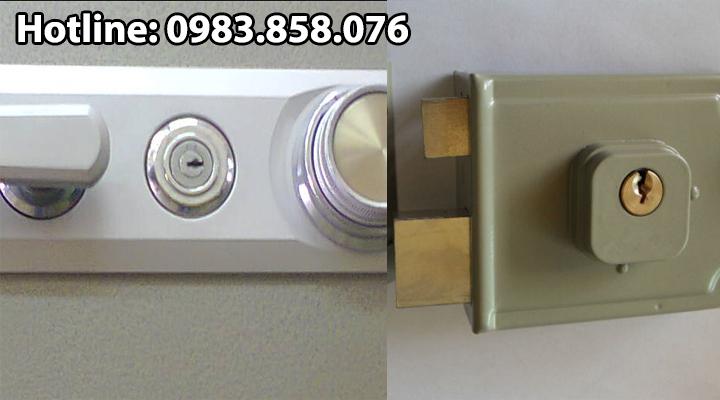 Ổ khóa két sắt chìa răng cưa