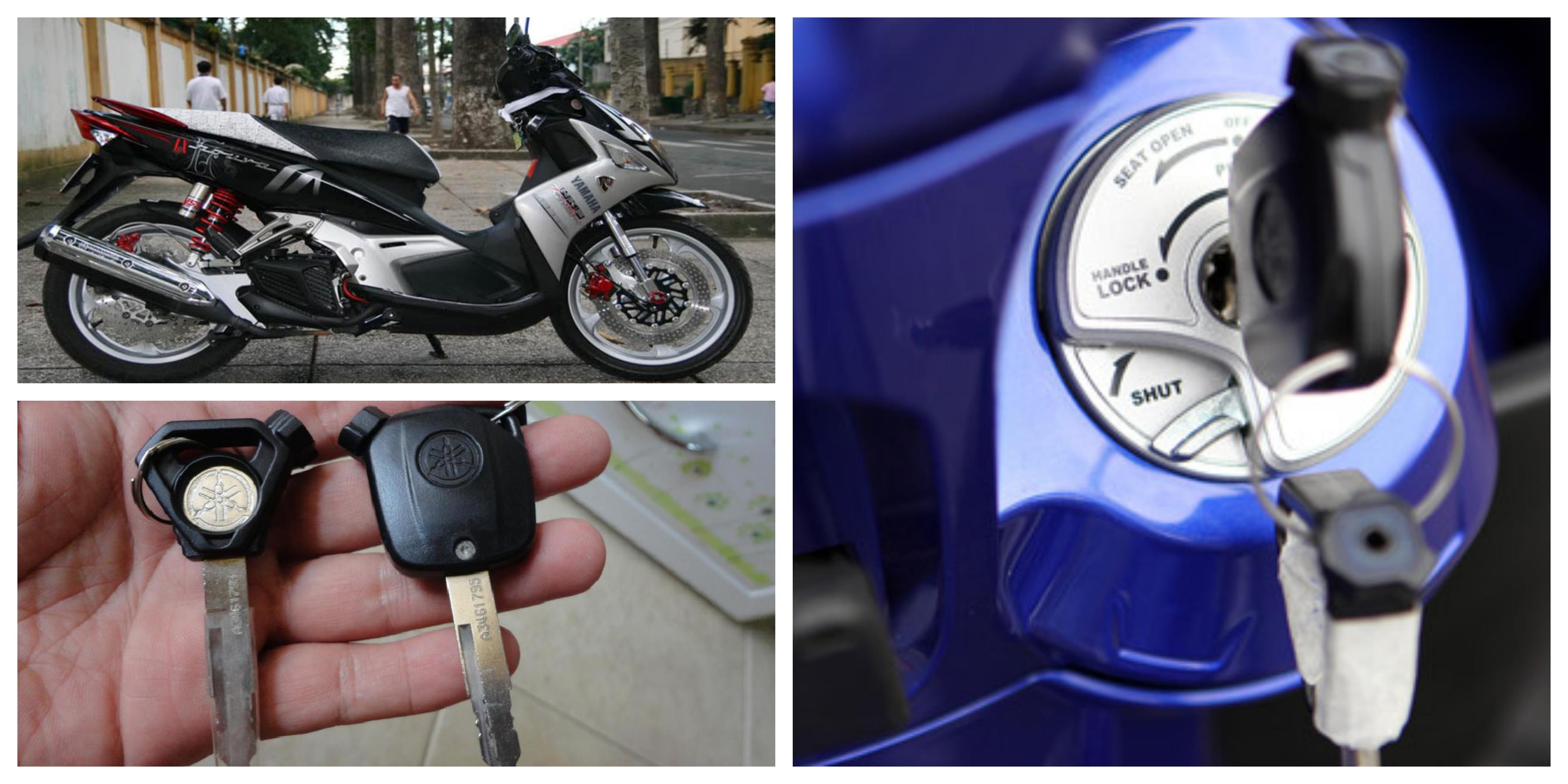 Làm chìa khóa xe Nouvo tại nhà giá rẻ hỗ trợ 24/24