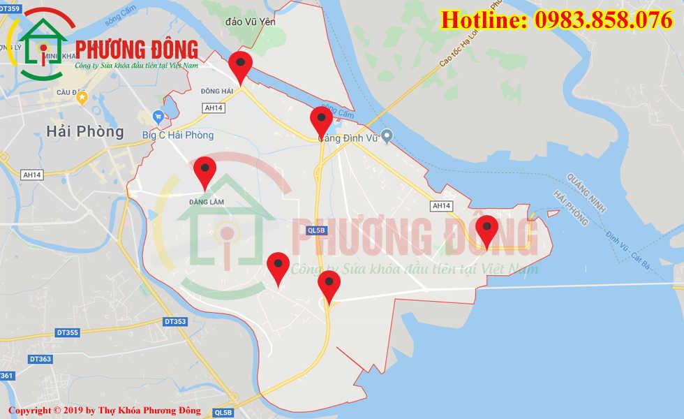 Địa chỉ thợ sửa khóa lưu động tại Hải An