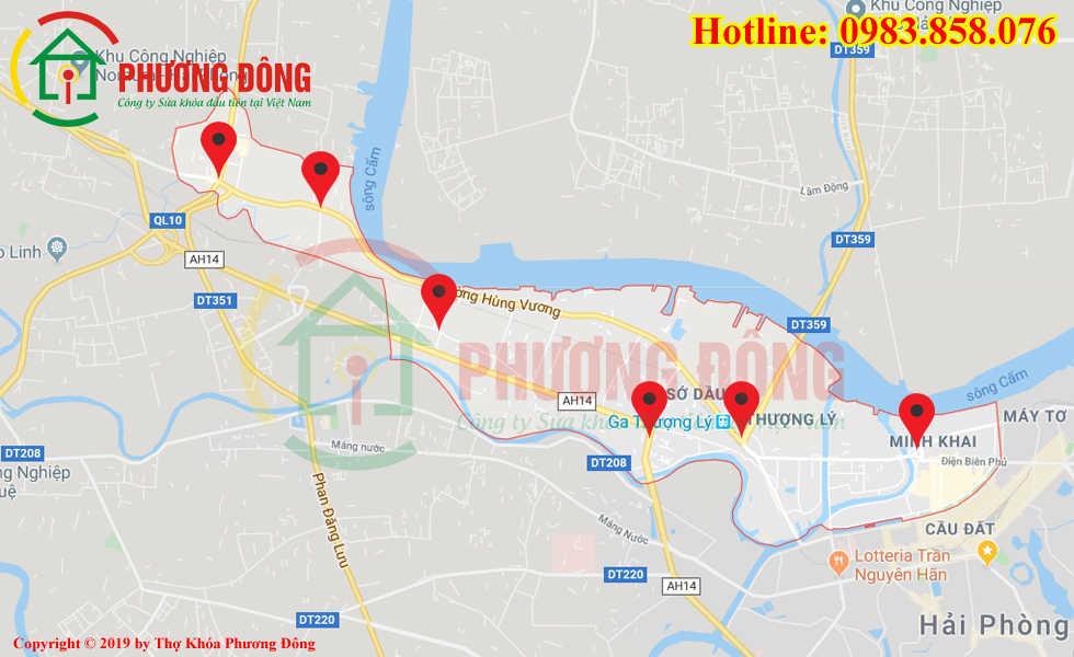 Địa chỉ thợ sửa khóa lưu động tại Hồng Bàng