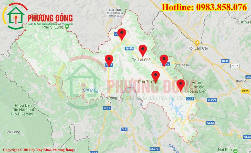 Địa chỉ thợ sửa khóa lưu động tại Lai Châu