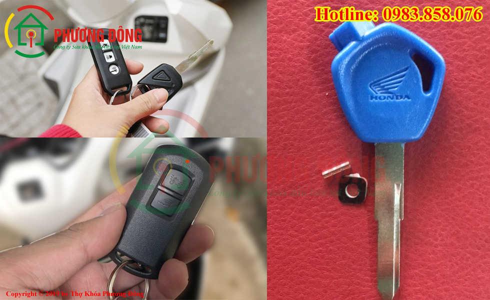 Phương Đông sửa tất cả các loại khóa xe máy ở Hà Tĩnh