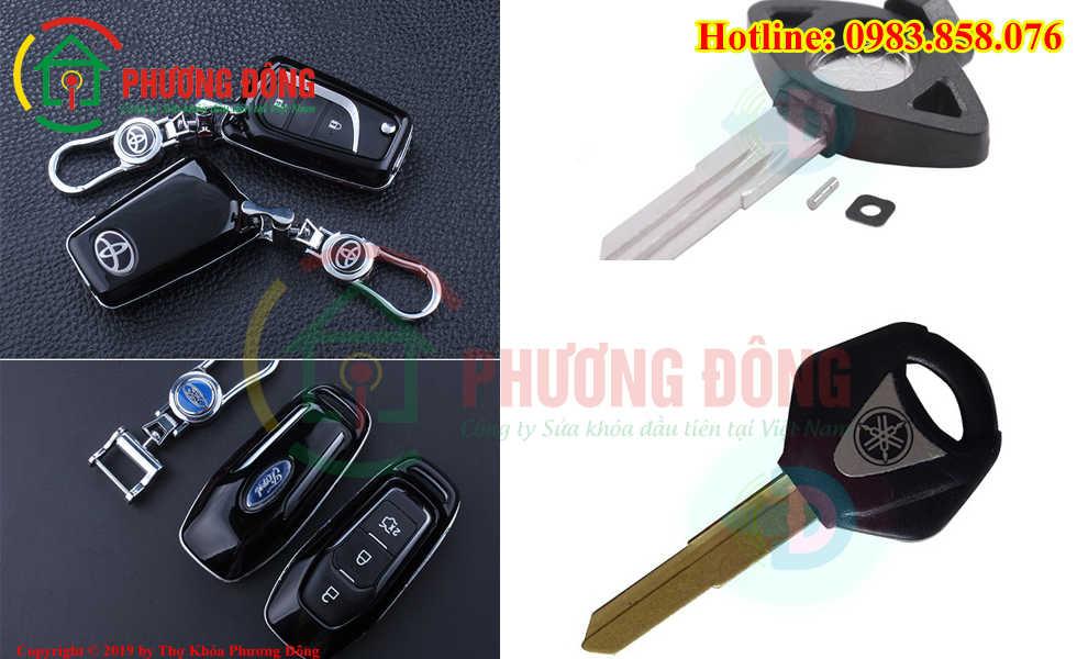 Phương Đông sửa tất cả các loại khóa xe tại Hồng Bàng