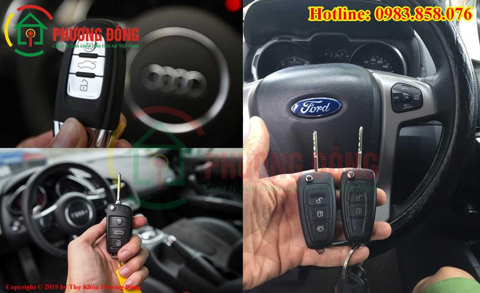 Phương Đông sửa tất cả các loại khóa ô tô tại Ninh Kiều