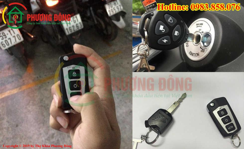 Phương Đông chuyên sửa khóa xe máy tại Ô Môn