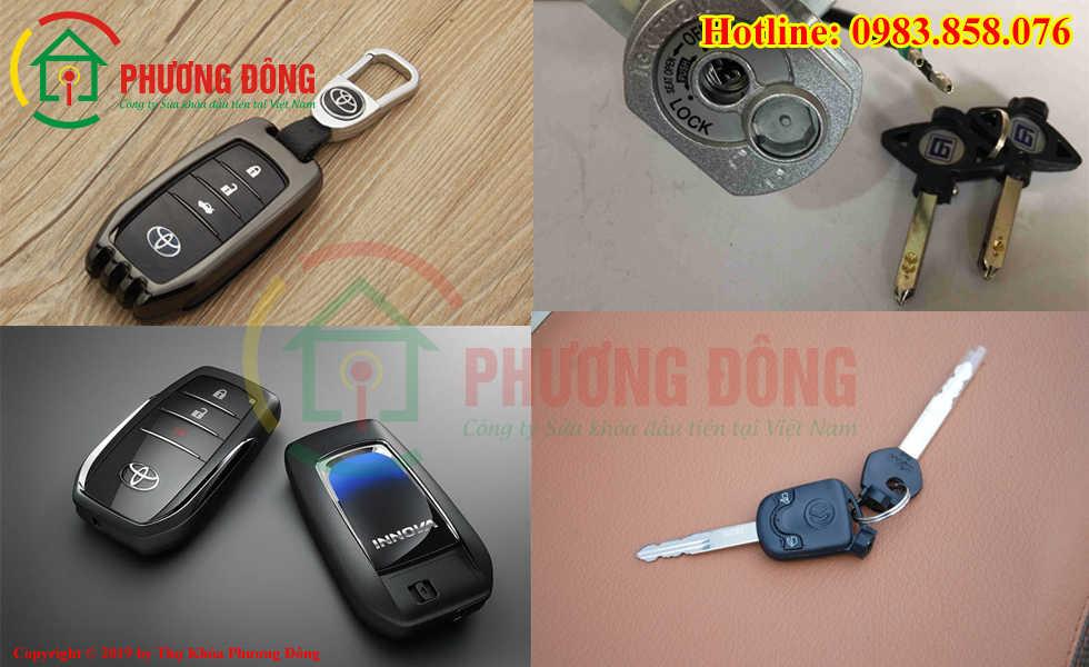 Phương Đông sửa tất cả các loại khóa xe ô tô, xe máy ở Vĩnh Yên