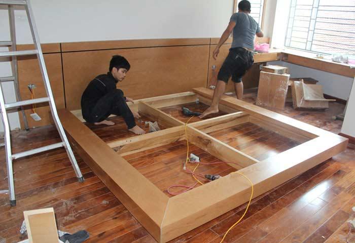Tháo lắp đồ gỗ