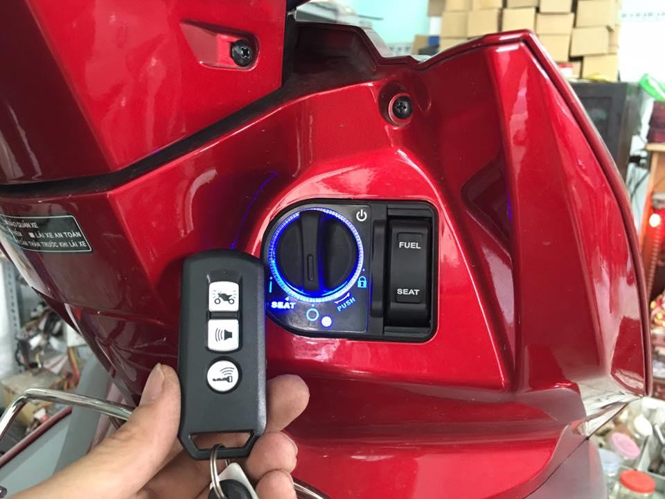 Lắp khóa Smartkey cho xe Airblade 2017