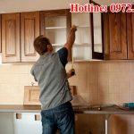 Tháp lắp đồ gỗ tại nhà Hà Nội an toàn giá rẻ nhất