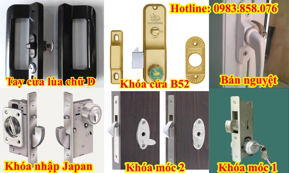 Top 6 loại khóa cho cửa lùa nhôm kính tốt nhất hiện nay được nhiều người tin dùng