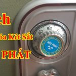 Cách mở két sắt Hòa Phát an toàn chính xác nhất