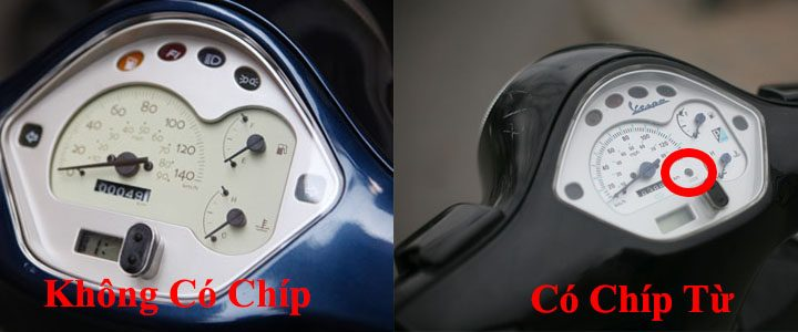 Xe Vespa có bẻ khóa được không? Chíp từ an toàn của Piaggio là gì?