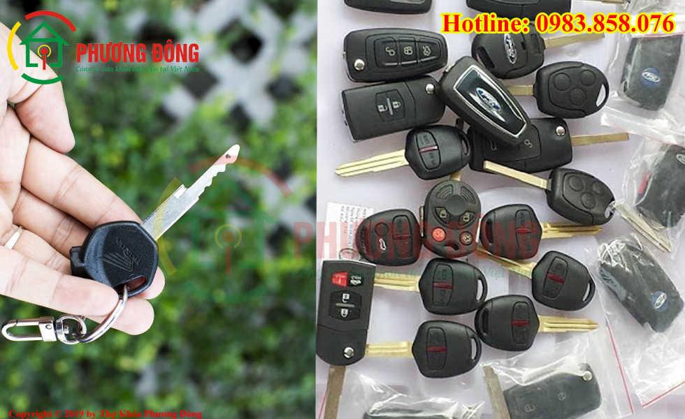 Phương Đông sửa tất cả các loại khóa xe tại Hàng Bột
