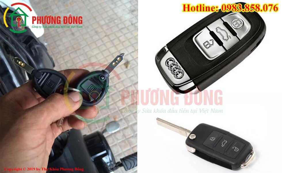 Phương Đông sửa tất cả các loại khóa xe tại Quận Long Biên