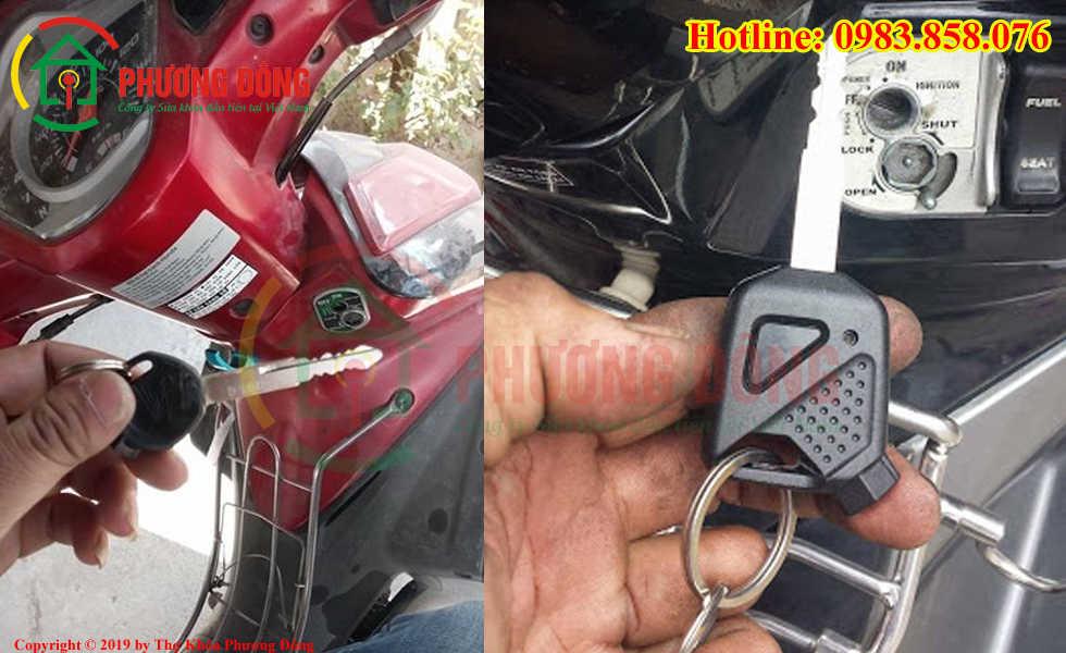 Phương Đông chuyên sửa khóa xe máy tại Thịnh Quang