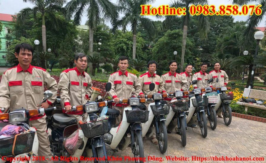 Đội thợ khóa Phương Đông tại Hà Nội