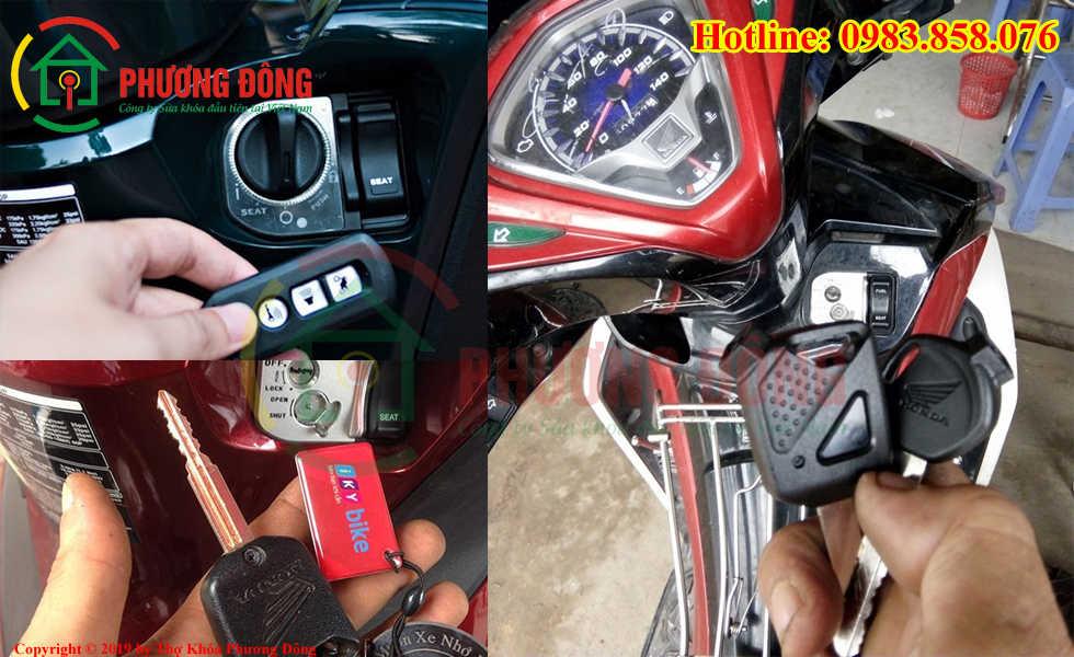 Phương Đông chuyên sửa khóa xe máy tại huyện Mê Linh
