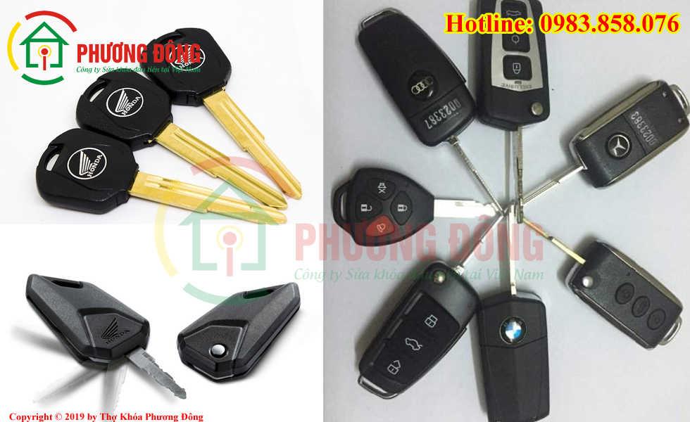 Phương Đông sửa tất cả các loại khóa xe tại huyện Mê Linh